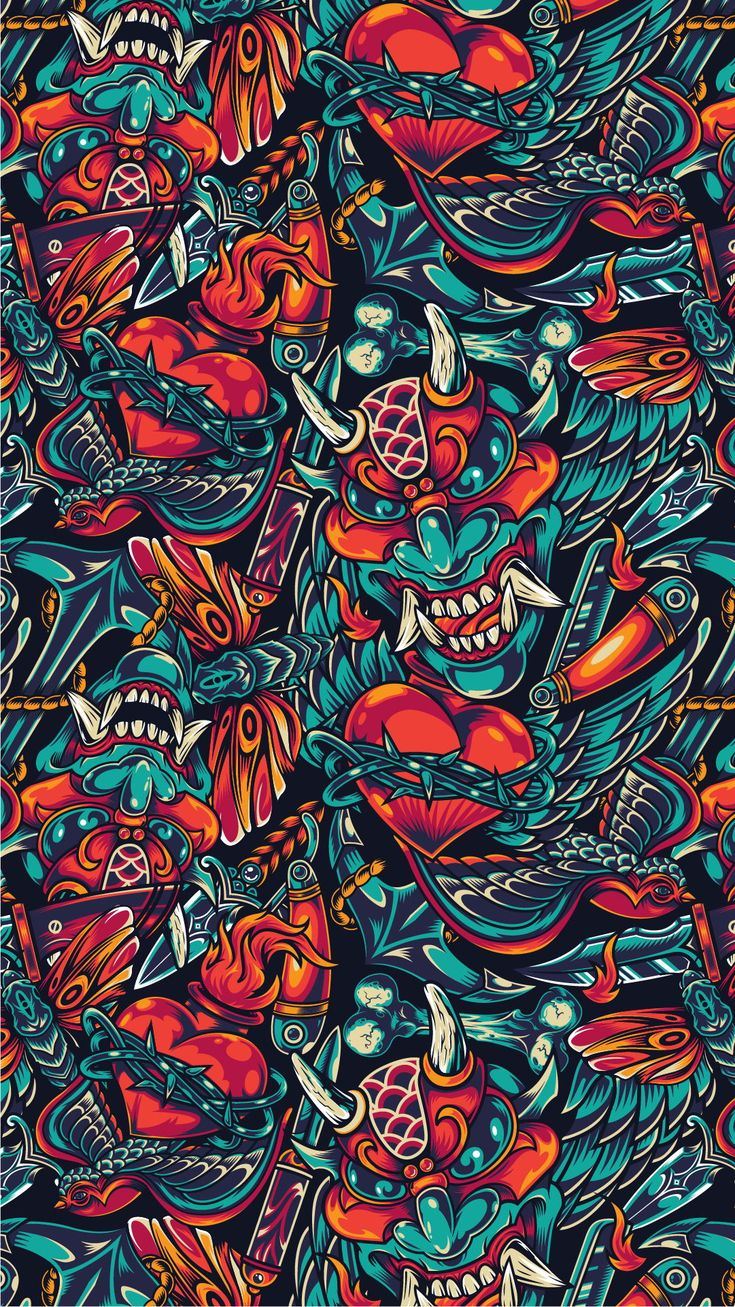 """20 """"Day Of The Dead"""" Apparel designs Graffiti wallpaper"""