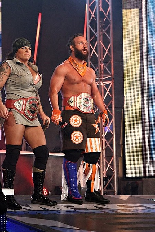 Eric Young and ODB-TNA Knockouts Tag Team Champions