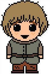 Game of Thrones: Rickon Stark PDF Pattern by ShylahsBooksAndHooks