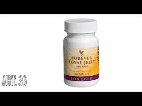 shop.foreverliving.it FOREVER ROYAL JELLY Art. 36 CC 0.132 Grazie al contenuto delle vitamine A, B, C, D, di 18 aminoacidi e di numerosi minerali, queste compresse migliorano il metabolismo, aumentando l'energia e riducendo la fatica. E' energia pura! Contenuto: 60 compresse    EUR 35,02