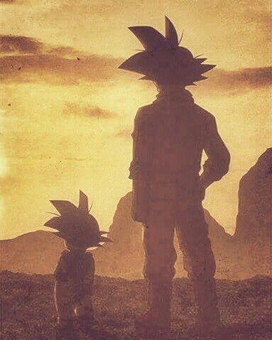 Padre e hijo a lo #DragonBall