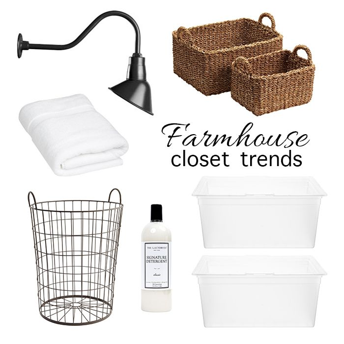 Farmhouse Closet Trend