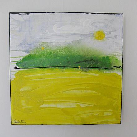 Art/Konst. Acrylic on canvas/Akryl på duk. 50 x 50 cm. By Camilla Nilsson, Camilla Nilsson Design.