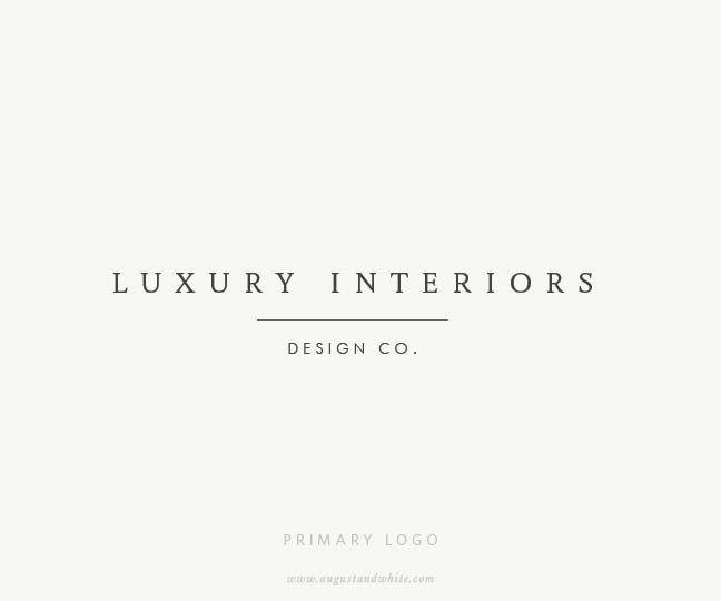 Logo Design | Branding by August + White