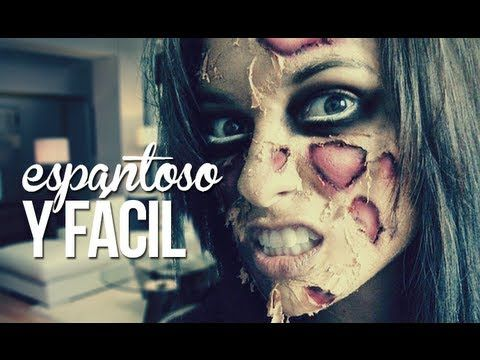 Más de 1000 ideas sobre Maquillaje Zombi Fácil en Pinterest