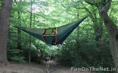 2-suspended tent hotel