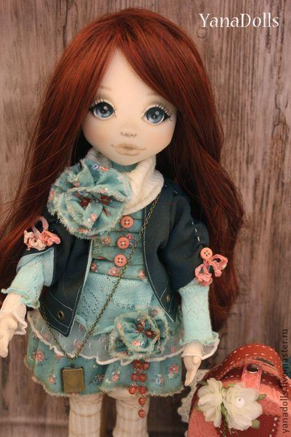 Коллекционные куклы ручной работы. Ярмарка Мастеров - ручная работа Николь. Handmade.