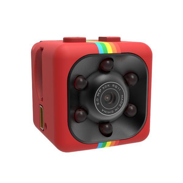 Original iMars™ Mini Camera SQ11 HD Camcorder HD Night Vision 1080P Sports Mini DV Video Recorder Sale - Banggood.com