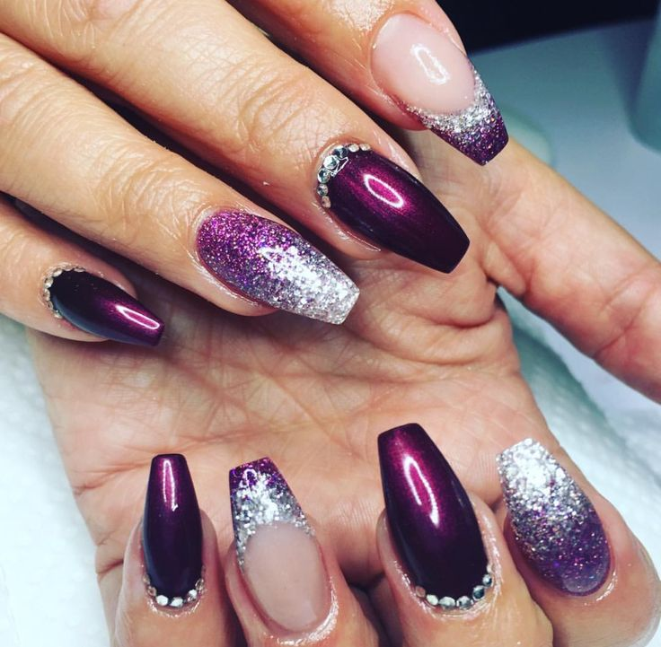 226 Best Glitter, Studs & Crystal Nails Images On
