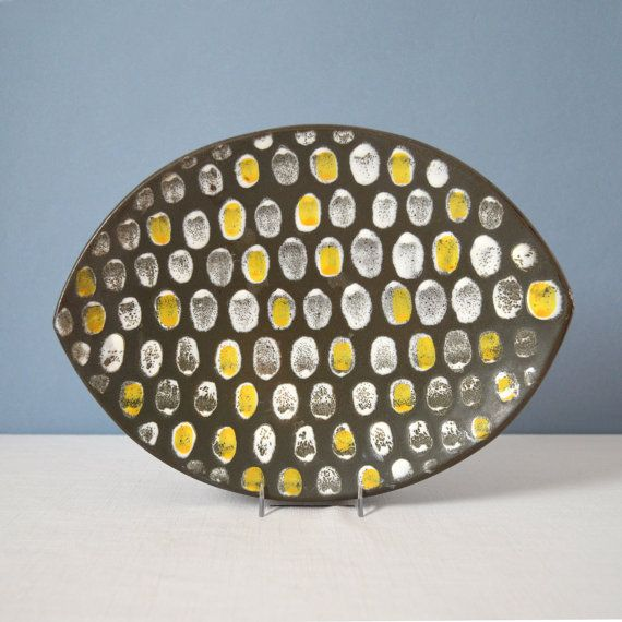 Vintage Mari Simmulson for Upsala Ekeby Salix by MidModMomStore, $60.00
