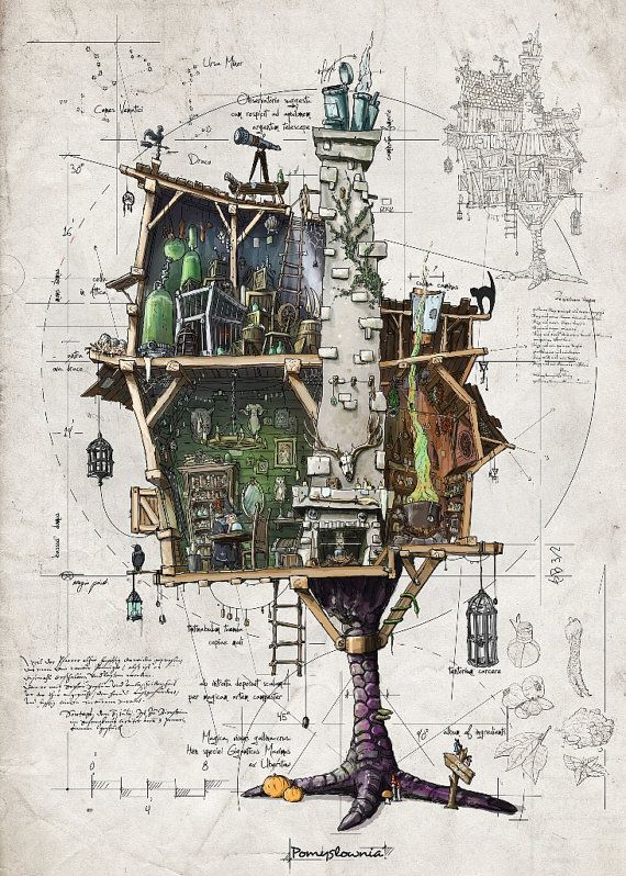 70 Best Images About Baba Yaga House On Pinterest House
