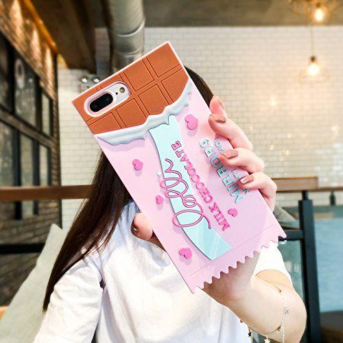 brand new ab43a 3ed0d Amazon.com: Squidgy Glitter Liquid Floating Pink Ice Cream Cone Case ...