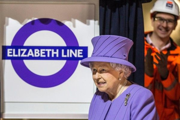 Crossrail, the new railway which will run beneath London, is to be named the Elizabeth Line in honour of the Queen, Boris Johnson has announced. London's mayor revealed the line's name and purple logo as he visited Bond Street station with the monarch. Trains on the railway will travel under the centre of the city, linking parts of Berkshire and Buckinghamshire to Essex when it opens in December 2018.
