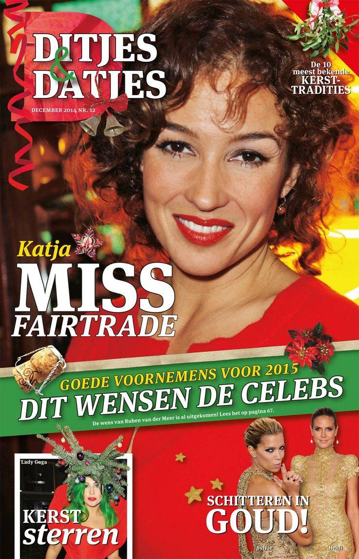 Cover Ditjes & Datjes 12, 2014 met Katja Schuurman. #DitjesDatjes