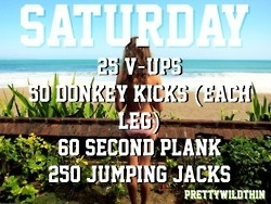 quick saturday workout