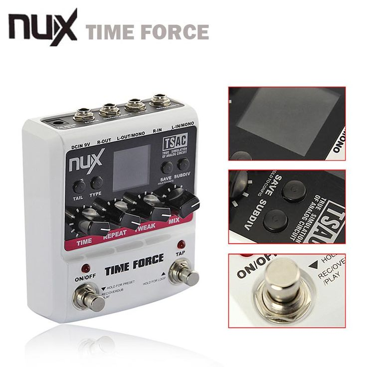 NUX TIME FORCE Guitar effect Pedal delay Multi Digital 11 Delay Effects pedal de guitarra Capo Electric Guitar Accessories -  http://mixre.com/nux-time-force-guitar-effect-pedal-delay-multi-digital-11-delay-effects-pedal-de-guitarra-capo-electric-guitar-accessories/  #GuitarPartsAccessories