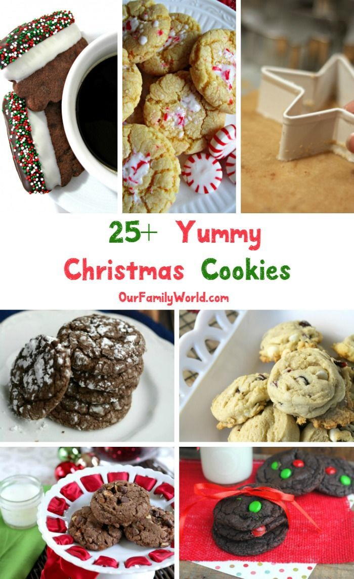 25+ of the Most Delicious Christmas Cookie Recipes Around