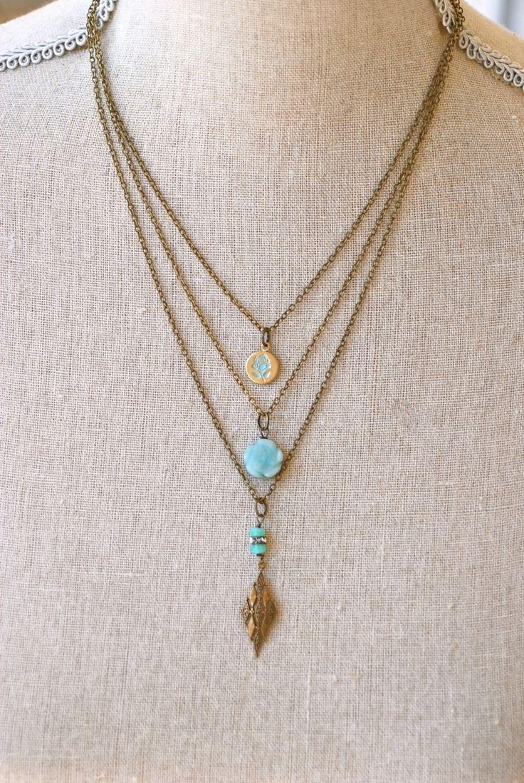 Best 25+ Charm necklaces ideas on Pinterest   Compass necklace ...