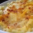 Chicken, Bacon, Tater Tot Crock Pot Bake...thinking of adding cream of chicken soup, too.