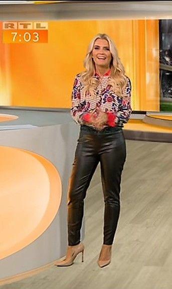 Jennifer Knäble Rtl Tv Lederhose Damen Lederhosen