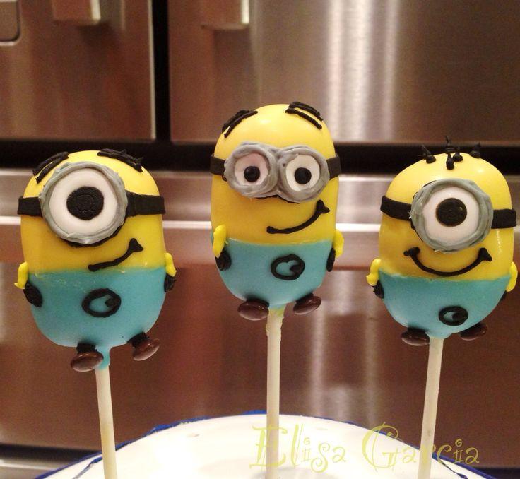 Despicable Me Minion Cake Pops