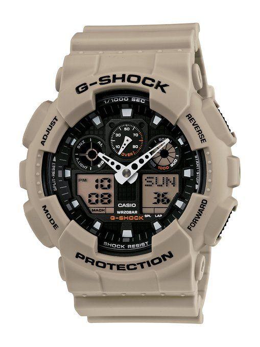 "Casio Men's GA100SD-8A ""G-Shock Military"" Watch"
