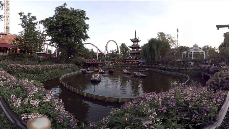360 video: Tivoli Gardens, Copenhagen, Denmark