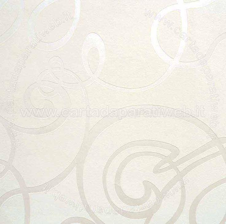 Black e white Vinilico espanso a rilievo su TNT, si consiglia di applicare con colla per TNT o multiuso (disponibile in accessori) codice: 5791-57