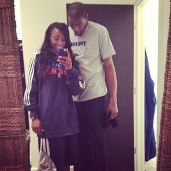 Kevin Durant New Girlfriend Monica Wright from wnba