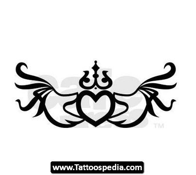 Claddagh Tattoos 04 Design Ideas