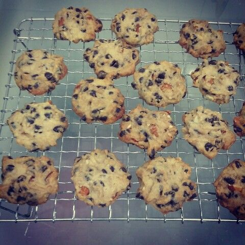 Chocolate Chip Cookies with Almond