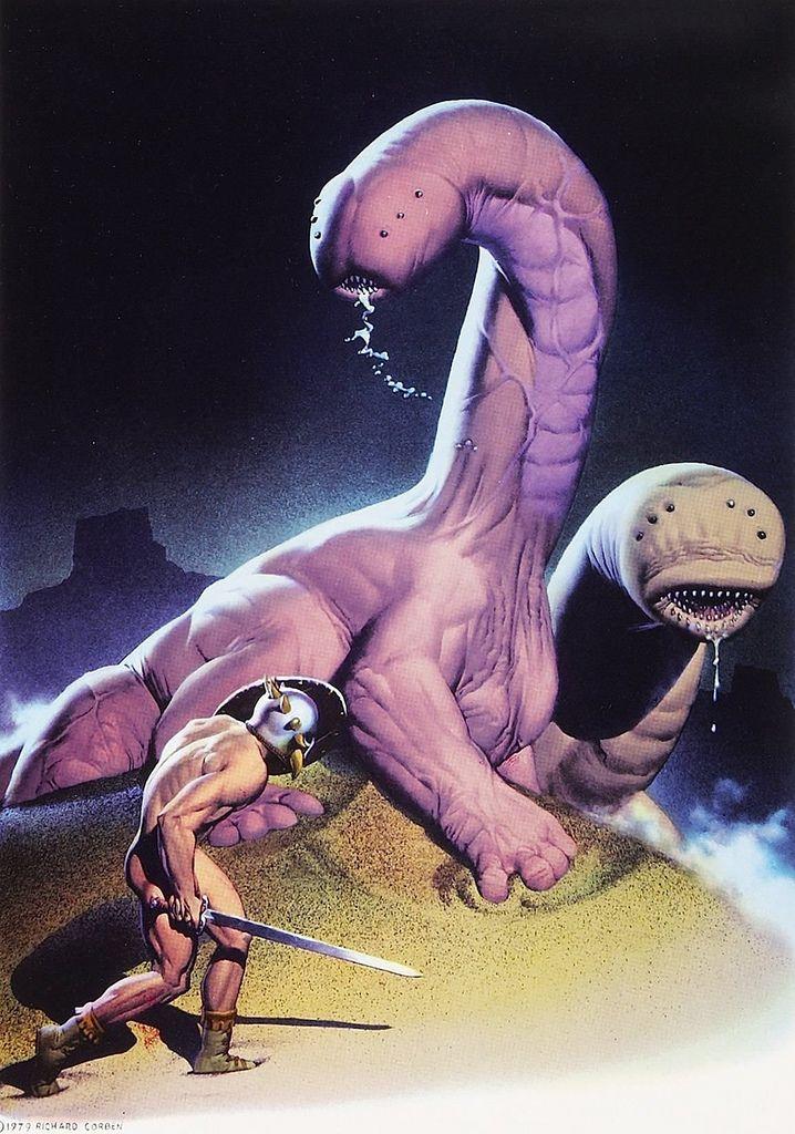 richard corben - scenes from the magic planet, 1979 (via myriac)