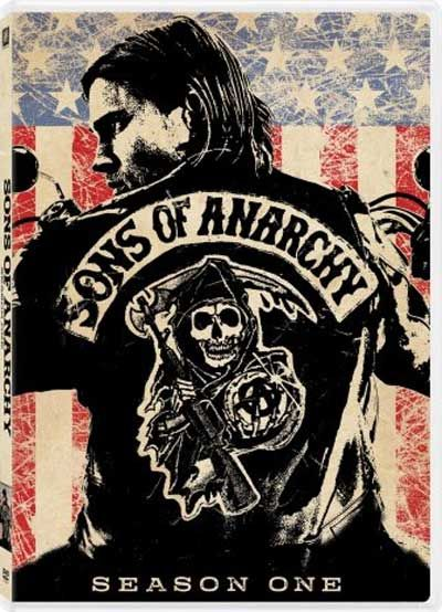 Sons of Anarchy - Season 1 Box Art for the Blu-ray Disc and DVD Releases