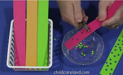 Hole Punch Fine Motor Development - Pinned by @PediaStaff – Please visit http://ht.ly/63sNt for all (hundreds of) our pediatric therapy pins