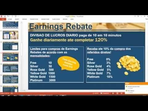 OMG - ONLINE MEDIA GOLD - DIVISAO DE LUCROS DIARIOS c/ SEU TRABALHO