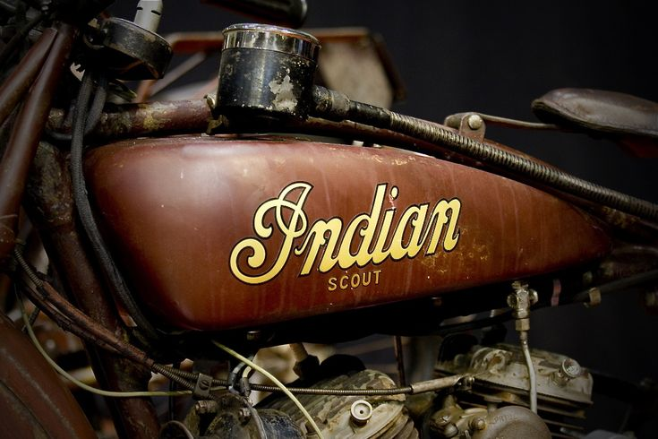 Always wanted to find an Indian bike and fix it up. favorite old school bike.