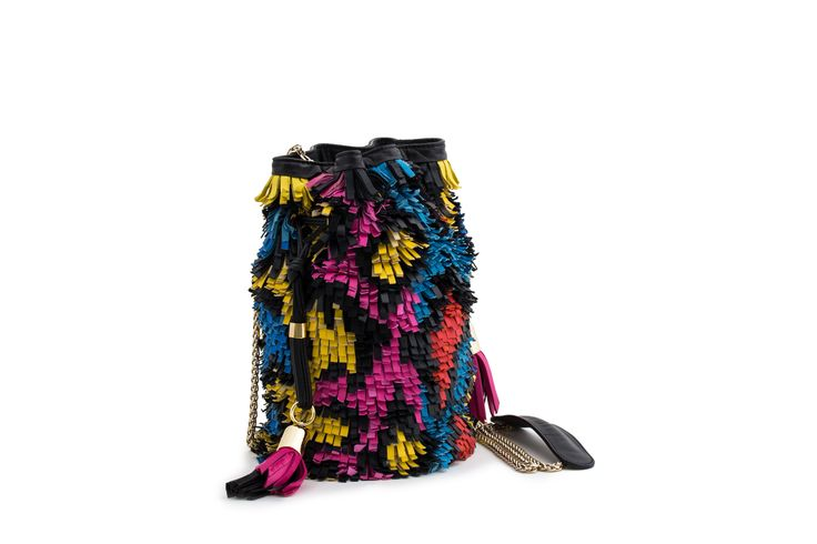Azzurra Grochi spring/summer bags collection, pixel bag
