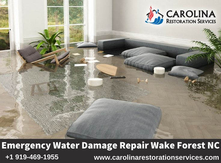 Emergency Water Damage Restoration Wake Forest Nc Repair Services Crs Damage Restoration Emergency Water Water Damage