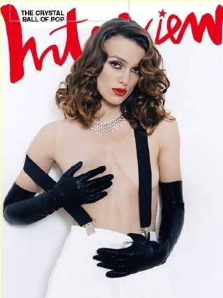 "Keira Knightley Naked In Interview Magazine: ""How Does That Always Happen?"""