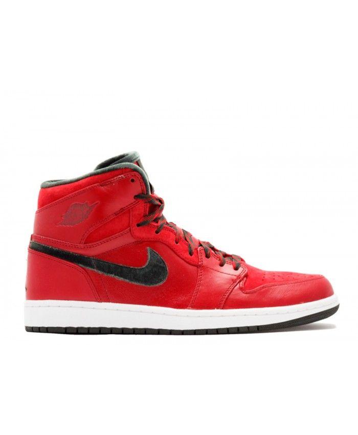 7936a63afb6777 Air Jordan 1 Retro Hi Premier 2013 Release Varsity Red Dark Army White  332134 631