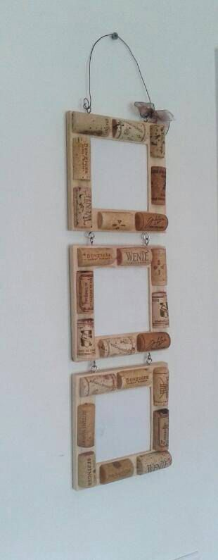 DIY wine cork picture frame!! Check out this item in my Etsy shop https://www.etsy.com/listing/230118210/wine-cork-frame-wine-decor-wine-gifts