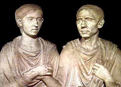 Porcia and Cato, portrait of a Roman couple, c. first century BCE  Roman portrait captures the calm gravity and dignity of the patrician couple.  served one purpose: they were portraits to be honored with reverence and respect.