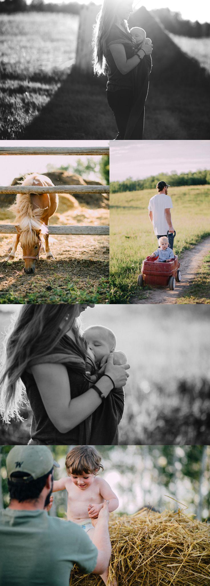 Stony Plain lifestyle photography  Family Photography  Outdoor family photographer  Photos by: Bee Natural Photography Baby wearing, breastfeeding, normalize breastfeeding