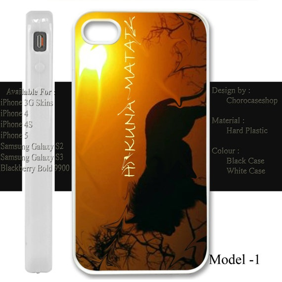iphone CaseC73Hakuna Matataiphone 3iphone by CHOROCASESHOP on Etsy, $15.00