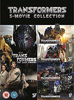 Transformers: 5-Movie Collection DVD + Bonus Disc 2017: Amazon.co.uk: Michael Bay: DVD & Blu-ray