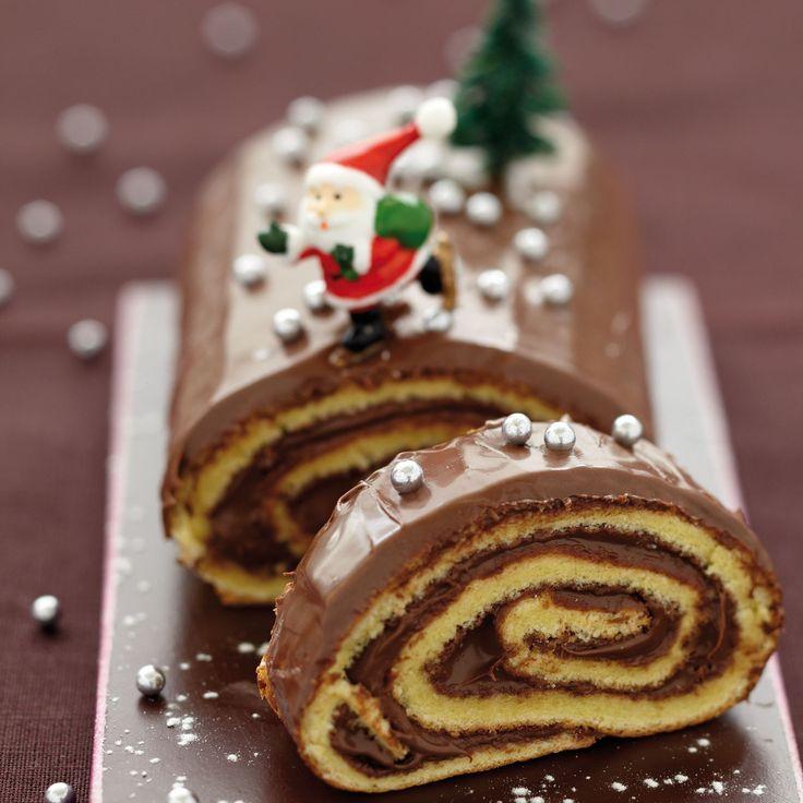 Découvrez la recette de la bûche au Nutella
