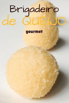 É apaixonado por brigadeiro E por queijo? Essa receita é perfeita pra você: simples como um brigadeiro e com sabor indescritível. Clique na imagem para ir ao blog ou salve para mais tarde :)