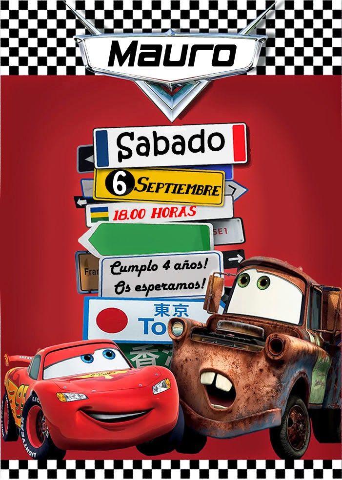 4 años PARTE 2: Fiesta Cars - 4 years PART 2: Cars party | con a de aileoN