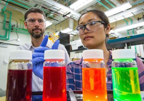 The team has developed a high cost, high efficiency quantum dot solar cell for space applications, where price is no obstacle. The idea is to hook the expensive new solar cell up with a cheaper — much cheaper — perovskite layer. The combined solar cell would be aimed at terrestrial applications with a more down-to-earth price point, too. https://cleantechnica.com/2017/10/30/pricey-new-space-age-perovskite-solar-cell-aims-low-cost-rooftop-solar-market/