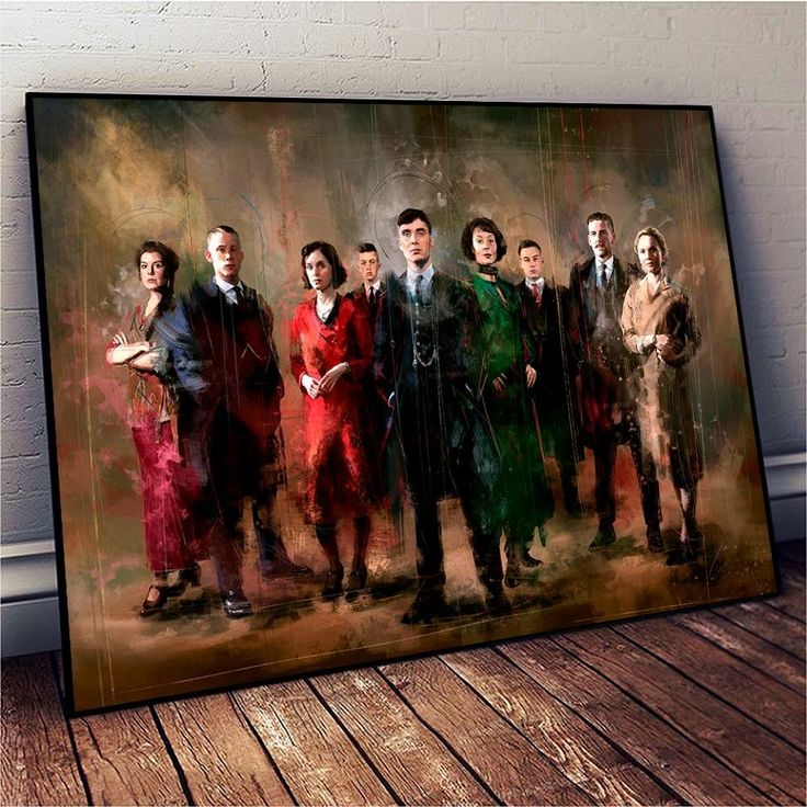 peaky blinders painting
